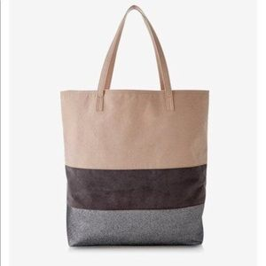 Express Color Blocked Tote